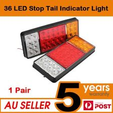2 x 36 LED Ute Rear Trailer Tail Lights Caravan Truck Car Indicator Lamp AU 12V