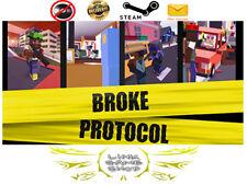 BROKE PROTOCOL: Online City RPG PC Digital STEAM KEY - Region Free