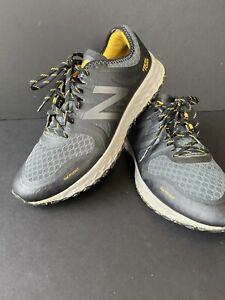 New Balance Kaymin Trail Fresh Foam Gray Yellow Running Shoes Men's US 12