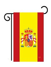"Spain (13"" x 18"" Approx) Garden Size Flag - 7 Tg 58075"