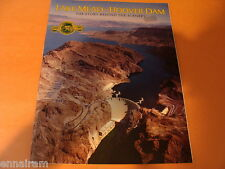 Lake Mead Hoover Dam Story Behind the Scenery 1985 Golden Anniversary by Maxon