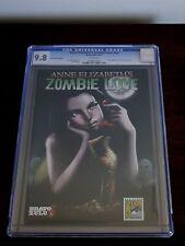 ANNE ELIZABETH'S ZOMBIE LOVE #NN COMIC CON CGC 9.8 RARE BRAVO ZULU 2012