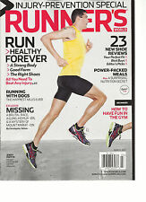 RUNNER'S WORLD, MARCH, 2013 ( INJURY- PREVENTION SPECIAL ) RUN HEALTHY FOREVER
