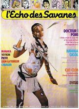 L'ECHO DES SAVANES NOUVELLE SERIE N° 39 1986 TRES BON ETAT