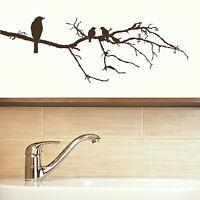 Bird Tree Wall Sticker Decal Art Transfer Graphic Stencil Vinyl Home Decor X75