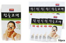 Korean Charcoal Nose Pore Cleansing Strips Blackhead Peel Off mask pack_10 pcs