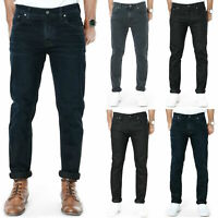 Nudie Mens Slim Fit Jeans Grim Tim, Tilted Tor, Tape Ted, Lean Dean, Thin Finn