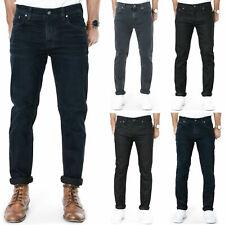 Nudie Herren Slim Fit Jeans Grim Tim, Tilted Tor, Tape Ted, Lean Dean, Thin Finn