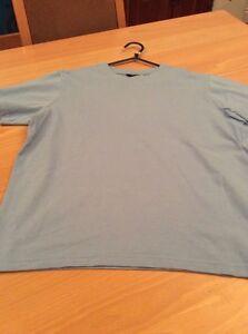 boys clothes 11-12 years Top Class Light Blue Cotton Short Sleeved Top T-Shirt