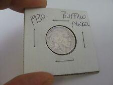 1930 Buffalo Nickel Coin