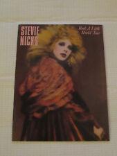 Stevie Nicks Rock a Little tourbook concert tour - Excellent condition