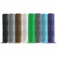 Redline Hex Pro BMX Grips 130mm with Plugs - Various Colors