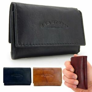 Klein Leder Geldbeutel - Slim Wallet Minibörse für Herren Geldbörse Portemonnaie