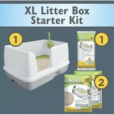 New listing Multi Cat Box Tidy Cats Non Clumping Litter System Breeze Xl All-in-One Odor
