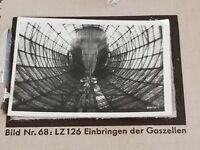 1933 Zeppelin Weltfahrten Cigarette Card Photo 68 LZ126 Gas Cells
