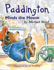 Paddington Library - Paddington Minds the House, Michael Bond, New Book