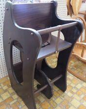 HIGH CHAIR Desk ROCKING HORSE 3-in-1 Amish Handmade Children Furniture SOLID OAK