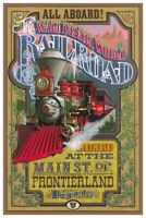 B2G1 FREE!! CALIFORNIA ADVENTURES REDCAR TROLLEY COLLECTOR POSTER