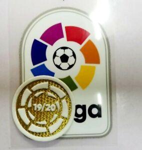 La liga soccer Patch badge  Campion Champion Set 2019-2020 🏆