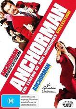 ANCHORMAN: The Legend Of Ron Burgundy / Wake Up Ron Burgundy 2-DVD 3-DISC BOX R4
