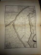 63 - CARTE MAP PLANS Campagne ITALIE 1745 & 1746 LA STRADELLA PONTE ARBERA1775