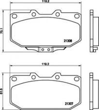 Mintex Racing MDB1416 M1166 High Performance Brake Pads