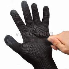 1 Pair Anti-cutting Gloves Stainless Steel Wire Safety Metal Mesh Butcher Mitten