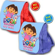 Personalizado Dora Explorer Mochila Escolar Kids Niños Mochila Vivero