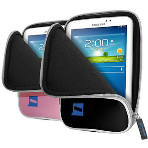 """Neoprene Sleeve Case Cover Pouch for Samsung Galaxy Tab 3 7.0"""" SM-T210 210R 211"""
