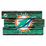 Miami Dolphins Defense Holzschild XL  63 cm ! !,NFL Football,Fence Sign