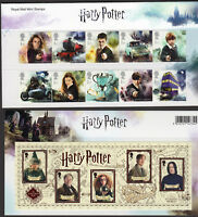 2018 HARRY POTTER Mint Stamps PRESENTATION PACK No 562