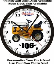 INTERNATIONAL CUB CADET 106 WALL CLOCK-FREE USA SHIP!