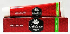 Old Spice Fresh Lime Pre Shave Cream, 70g Pack OF 1 Free Shipping