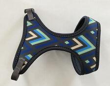 Good2Go Aqua and Blue Chevron Cat Harness