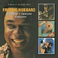 Freddie Hubbard - HIGH ENERGY, LIQUID LOVE, WINDJAMMER [CD]