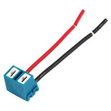 2 x H7 Ceramic Headlight Light Bulb Wire Connector Plug Socket for Car SH
