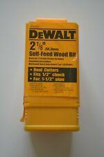 """Dewalt DW1637 2-1/8"""" (54mm) Self-feed Wood Bit"""