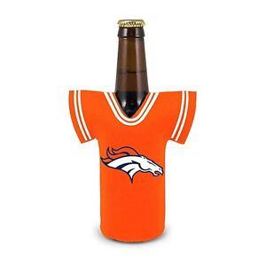 Denver Broncos NFL Bottle Jersey Koozie Coozie Football Drink Holder