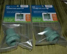 2 NEW Orbit 57191 PVC Manifold Transition Adapter Sprinkler Valve Fittings