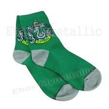 Harry Potter Slytherin House LOGO Knit Wool Socks ONE PAIR