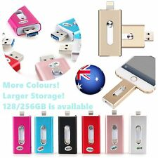 iFlash OTG Device USB Flash Drive Memory Stick for iPhone iOS Android 128/256GB