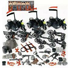 Lot 6 figurines Moto Militaire Allemand WW2 Soldats compatible avec Lego