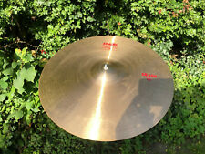 "PAISTE 2002 Serie - 16"" crash made in Zwitzerland red label"