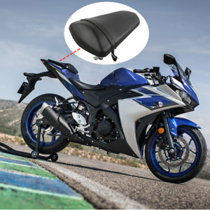 Rear Pillion Passenger Seat Saddle Cushion Fit For Yamaha YZFR3 YZF-R3 15-20 16