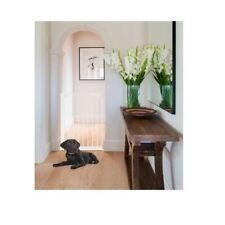Safetots extra alto Tornillo ajustada Bebé Mascota Perro Seguridad Escalera Puerta Blanco 62-106 Cm