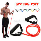 Elastic Pilates Latex Tube Exercise Resistance Band For Gym Yoga Fitness Workout