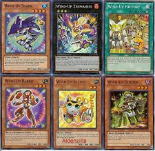Yugioh Wind-Up Deck - Zenmaines Factory Kitten Shark Rabbit Hunter Juggler