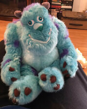 "Disney Store Parks Pixar Monsters Inc Sully 12"" Plush Sitting"