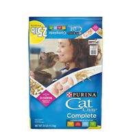 Purina Cat Chow Complete (25 lbs.) - Dry Cat Food For All Ages Of Cats