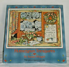 Susan Winget Puzzle Homespun Treasures 750 Pcs New SEALED Delft